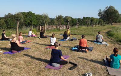 Yoga in de natuur –  in juli